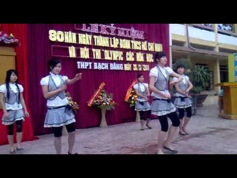 Tell me (말해 봐요)-Wondergirls-dance cover-teen THPT bach dang.Thuy Nguyen,Hai Phong