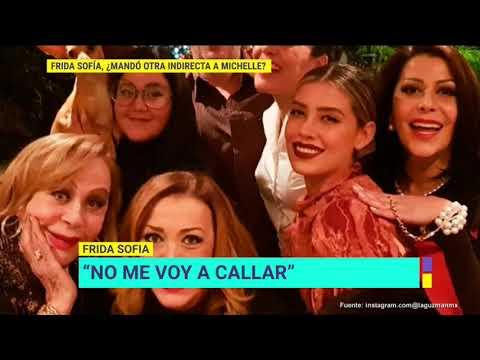 Alex - Michelle Salas le robaba a Silvia Pinal segun dice Frida Sofia