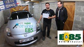 Installation boitier/kit ethanol (E85) sur la Nissan 350Z 300CH de Patrick un abonné.