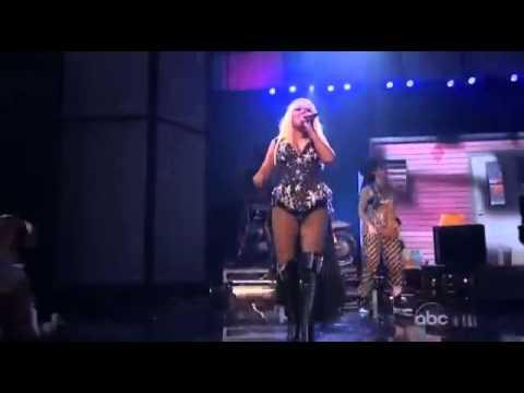 Christina Aguilera AMA 2012 LIVE FULL PERFORMANCE