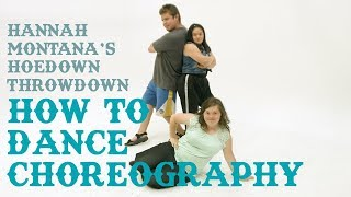 How to Dance Choreography - Hannah Montana's Hoedown Throwdown