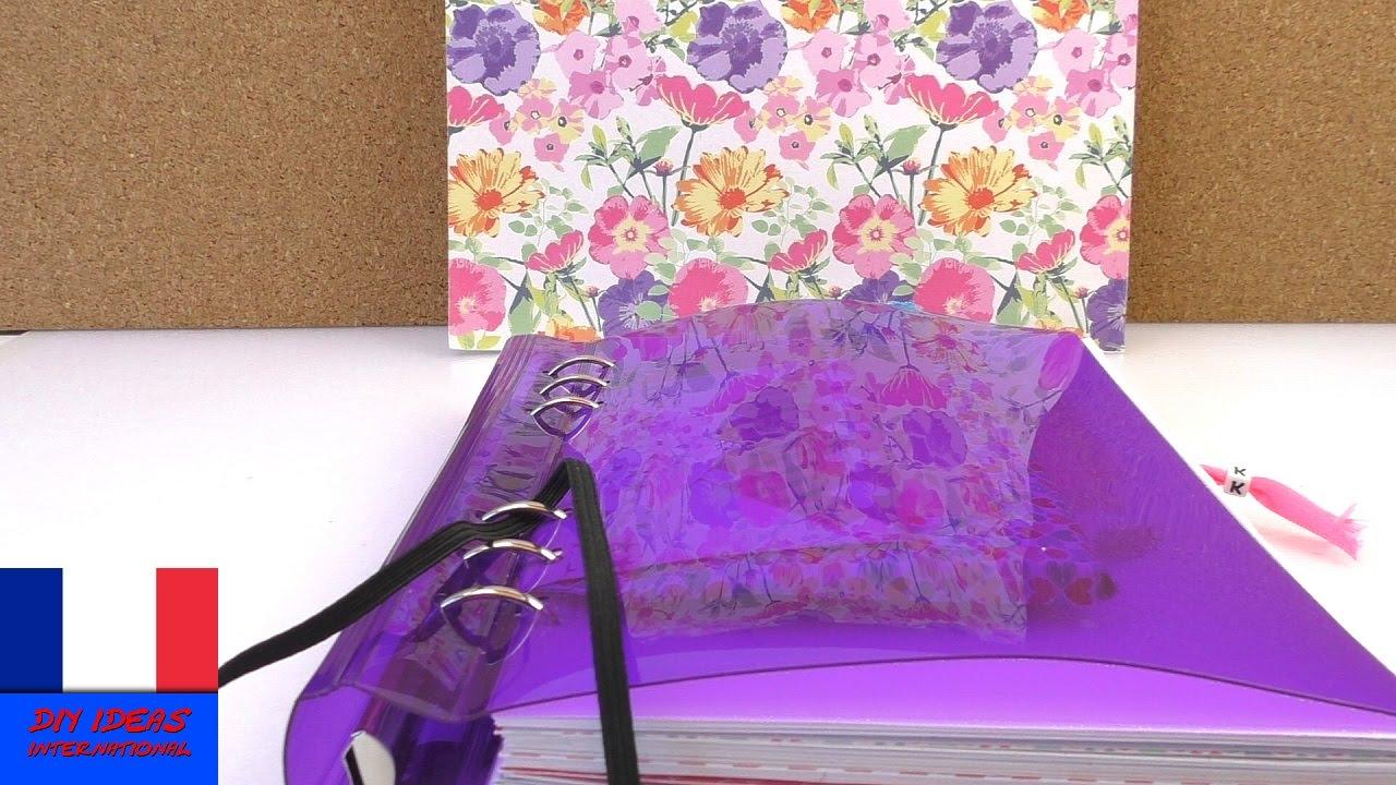 id es filofax diy images simples dessiner classeur anneaux super simple et facile youtube. Black Bedroom Furniture Sets. Home Design Ideas