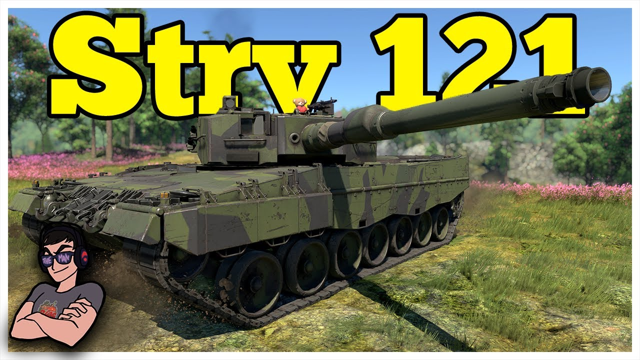 The Suspicious Leo - Strv 121 - War Thunder