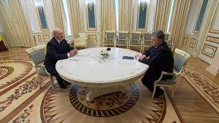 Встреча Лукашенко и Порошенко прошла в Киеве
