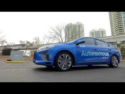 Probamos el Hyundai Ioniq Autonomo - CES Las Vegas 2017.