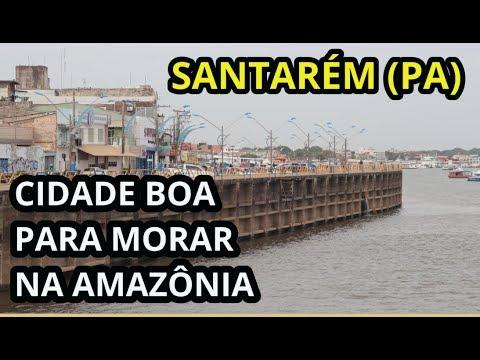 Santarém Pará, cidade boa para morar e viver na Amazônia...  Turismo Brasil Região Norte)