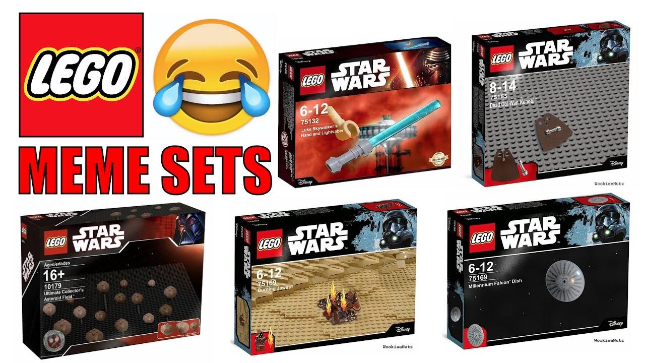 Funny Lego Star Wars Meme Sets Youtube