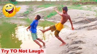 Village Boys 🤣🤣 Comedy Video 2019 | World Best Funny Videos  #SharmaMedia