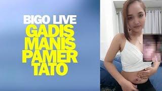Gadis Manis Pamer Tato Baru Bigo Live