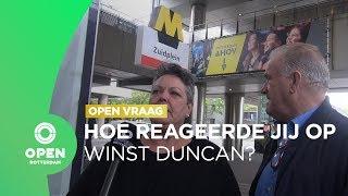 Hoe reageert Rotterdam op de winst van Duncan Laurence? | OPEN vraag