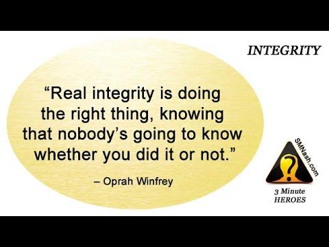 3 Minute Heroes (16) - Integrity