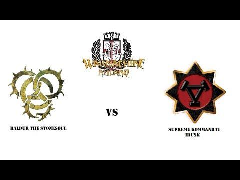 Warmachine Milano Battlereports: Baldur2 vs Irusk2
