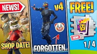 Default Dance V4, FREE Middle East Spray, Bao Bros Date, Star Walker, v10.10 - Fortnite News