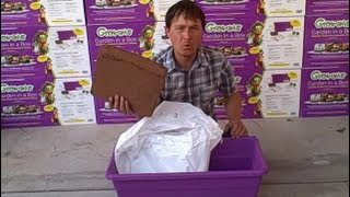 $10 Earth Box Clone - Growums Container Vegetable Garden At Lowes