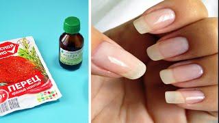 Как быстро отрастить ногти Простейший рецепт для роста ногтей