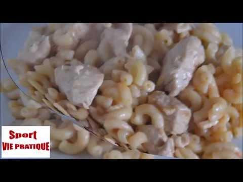 recette-cookeo-:coquillettes-à-la-dinde