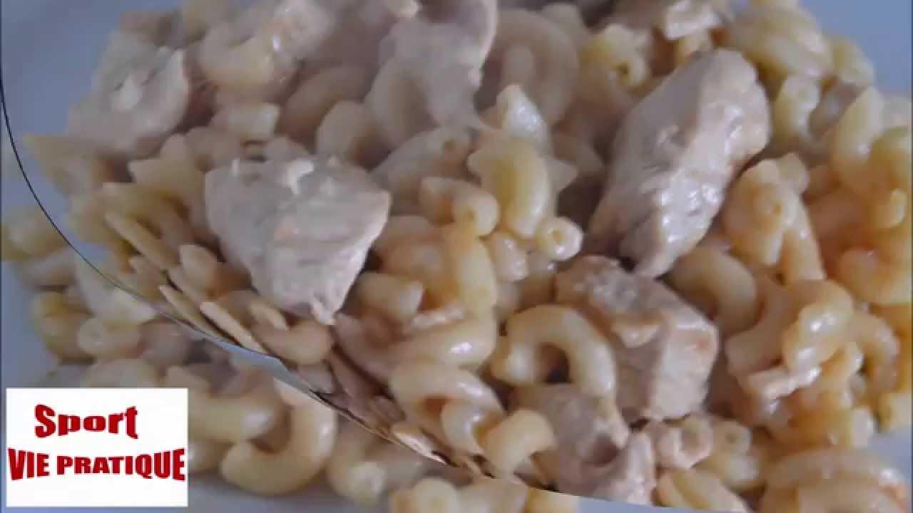 recette cookeo coquillettes a la dinde