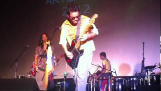 Andrei guitar improvisation with Sintesis - Yakuma