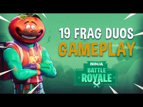 19 Frag Duos Gameplay - Fortnite Battle Royale Gameplay - Ninja