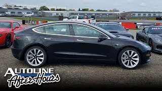 A Hardcore Gearhead Buys A Tesla Model 3 - Autoline After Hours 444