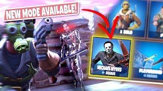 *NEW GAMEMODE* MICHAEL MYERS TERMINATOR Custom Gamemode in Fortnite! (NEW SKIN!)