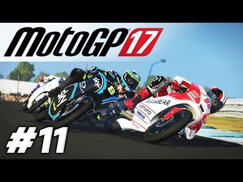 MotoGP 17   RIDER CAREER #11   INTENSE RACES DOWN UNDER!   JAPAN & AUSTRALIA (Pro)