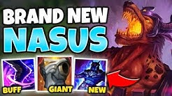 WTF?! NASUS BECOMES A GIANT WITH THIS INSANE BUFF! (W + R STACK NOW) - League of Legends