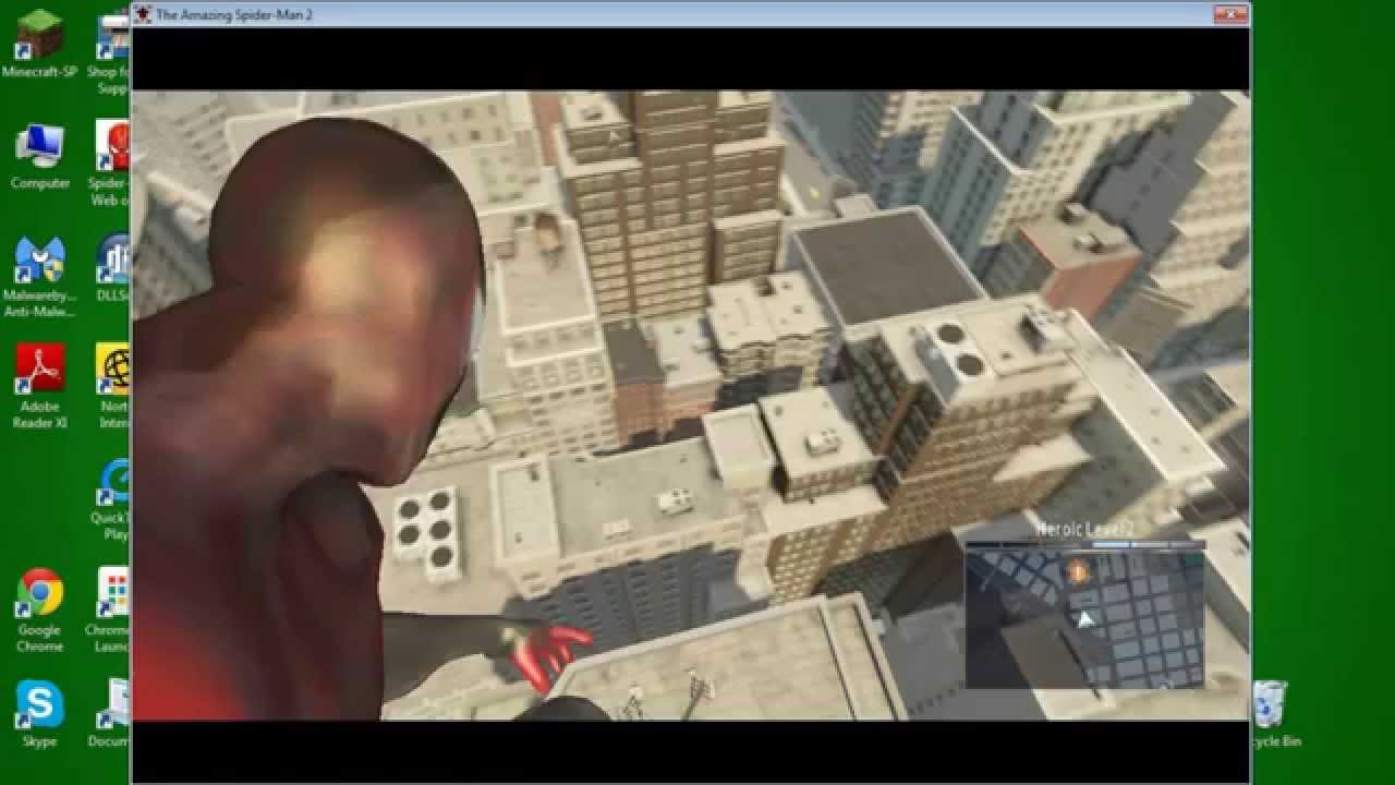 Amazing Spider Man 2 Gameplay Pc Without Proper Graphic Card Youtube