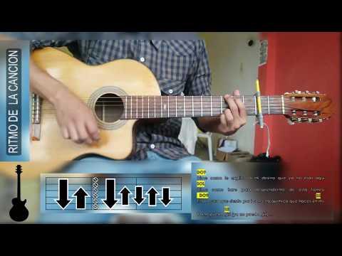 Cómo Tocar Me Rehúso De Danny Ocean En Guitarra Acústica, PrepaMusic