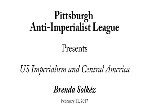 P.A.I.L. Forum: US Imperialism and Central America