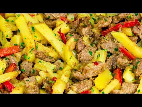 une-recette-simple-qui-vous-sauve-de-toute-situation---viande-aux-légumes-à-la-poêle-!-|savoureux.tv