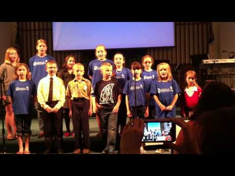 First Baptist Church Kids Choir sings Everything is Awesome