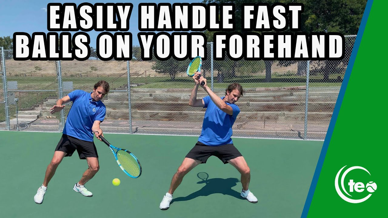 How To Instantly Fix Your Defensive Forehand I TENNIS FOREHAND