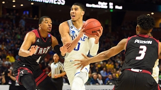 First Round: Duke Handily Defeats Troy