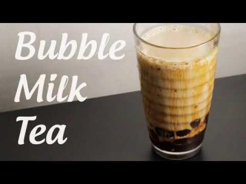 Let's make Muscovado Sugar Bubble Milk Tea by hand