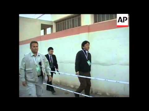 WRAP Polling in provincial elex, security, Int Min sot, Basra, observers