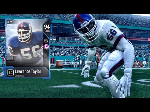 Lawrence Taylor Dominates Weekend League - Madden NFL 18 Gameplay