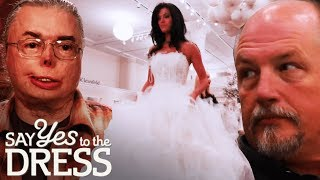 Dads Have Their Say on Their Daughter's Wedding Dress! | Say Yes To The Dress: Randy Knows Best