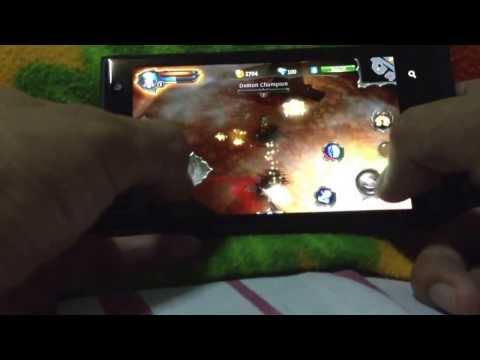 Gameloft's Dungeon Hunter 4 On Windows Phone Sample Game Play Demo