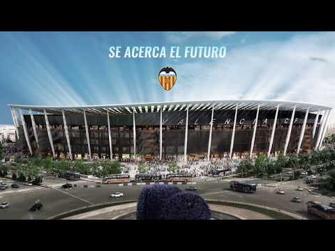 Así será el nuevo estadio del Valencia CF