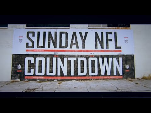 2018 ESPN Sunday NFL Countdown Intro