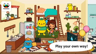 "Toca Life Town ""Education Pretend Play Games"" Android Gameplay Video"