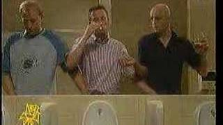 English Men in Toilet