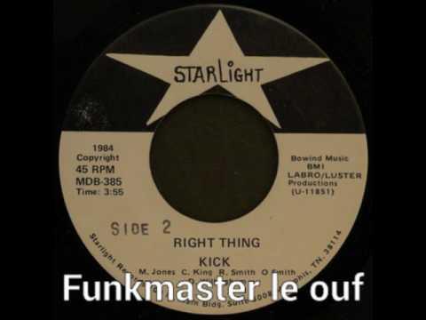 """Kick """"right thing -1984"""