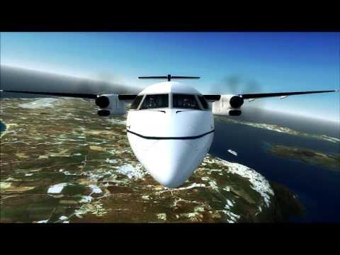 FSX HD ✈ Majestic Dash 8-Q400 Software ✈ Air Olympic