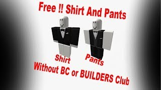 Roblox how to get Free Shirt Without BC or Builders Club