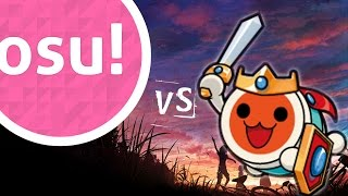 osu! vs taiko -  Our Stolen Theory - United (L.A.O.S Remix)