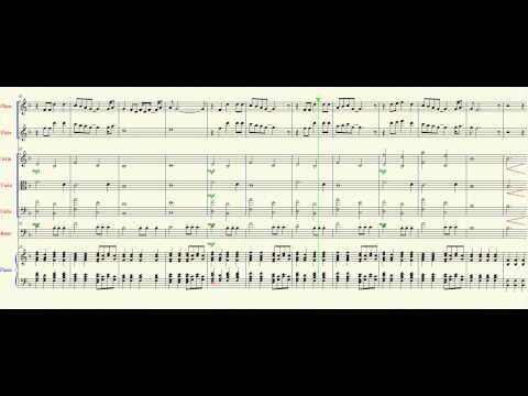 21 Guns(Green Day) - Arreglo para Oboe,Flauta,Cuerdas Frotadas y Piano