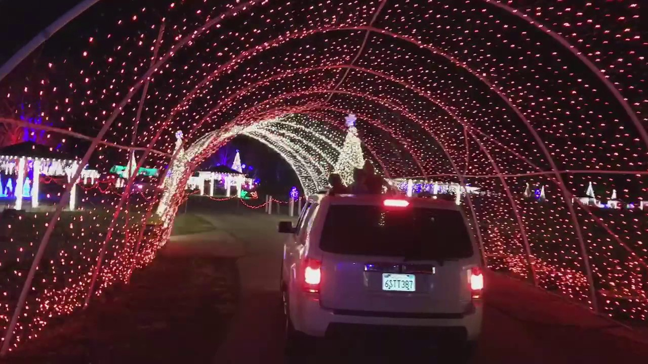Christmas In Color.Christmas In Color Provo Utah Lake