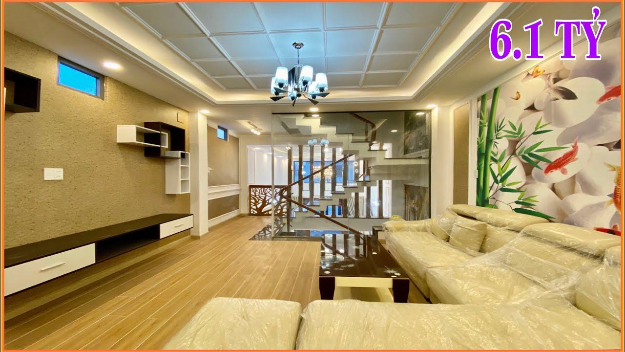 Bán nhà Gò Vấp | 310 ] Nhà phố tuyệt đẹp thiết kế 3 lầu giá 6.1 tỷ tặng nội thất Lê Đức Thọ Gò Vấp